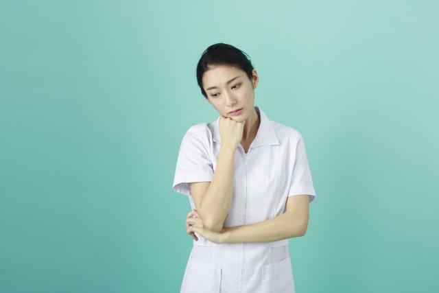 看護師の深い悩み